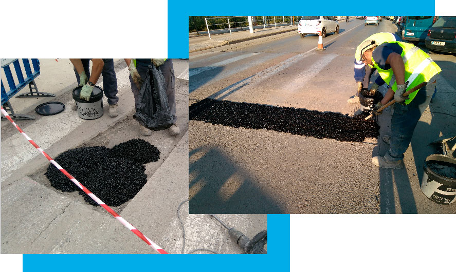 Cold asphalt 1 - Fixer