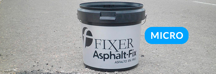 Cold asphalt 3 - Fixer