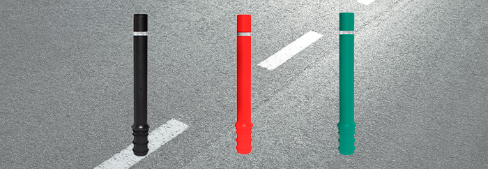 Embeddable flexible bollard 1 - Fixer