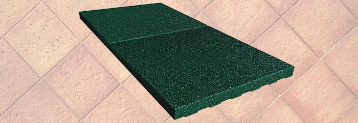Smooth rubber tiles 1 - Fixer