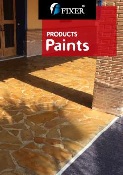 paints products catalog - fixerint