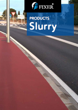 slurry products catalog - fixerint
